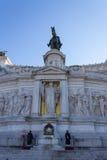 Altare-della Patria - Rom Stockbild