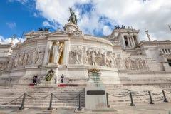 Altare della Patria Rom Stockbild