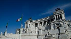 Altare della Patria in Rom, Italien Lizenzfreies Stockfoto