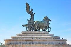 Altare Della Patria, Rom Italien Stockfotos