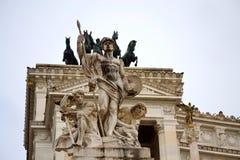Altare-della Patria Rom Italien Lizenzfreies Stockbild