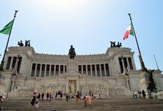 Altare della patria Roma Immagini Stock Libere da Diritti