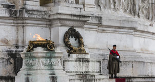 Altare della patria Roma Immagine Stock Libera da Diritti