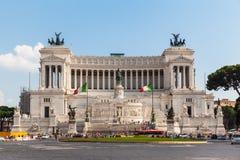Altare della patria a Roma Fotografia Stock