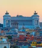 Altare della patria roma Fotografie Stock Libere da Diritti