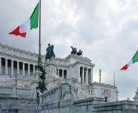 Altare della patria roma Fotografia Stock