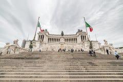 Altare della patria a Roma, Italia Fotografia Stock