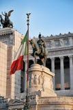 Altare della patria a Roma, Italia Fotografia Stock Libera da Diritti