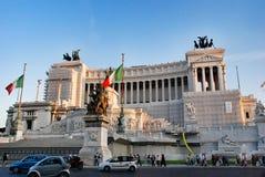 Altare della patria a Roma, Italia Immagini Stock