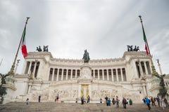 Altare della patria a Roma, Italia Immagini Stock Libere da Diritti