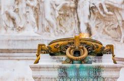 Altare della patria a Roma Italia Fotografie Stock Libere da Diritti