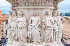 Altare della patria a Roma Italia Fotografia Stock