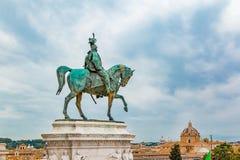 Altare della patria a Roma Italia Immagini Stock Libere da Diritti