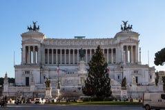 Altare della patria, Roma, Italia Immagini Stock Libere da Diritti