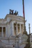 Altare della patria, Roma, Italia Fotografia Stock Libera da Diritti