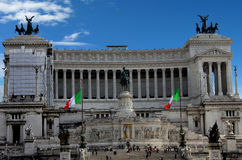 Altare della patria, Rome Royalty Free Stock Photo