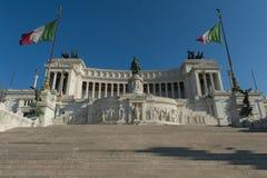 Altare della Patria, Rome. Royaltyfri Fotografi
