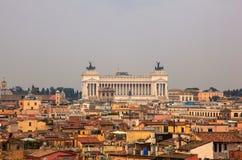The Altare della Patria, Rome Royalty Free Stock Images