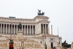 The Altare della Patria, Rome Royalty Free Stock Photos