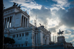 The Altare della Patria Stock Photography