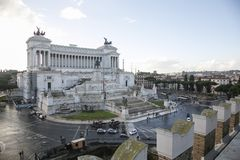 Altare della patria Rome Stock Photo