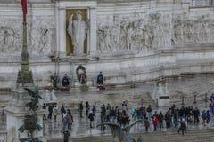 Altare della patria Rome. Important landmark altare della patria Rome royalty free stock photo