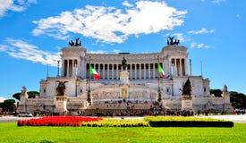 Altare Della Patria, Rome Italien Royaltyfri Fotografi