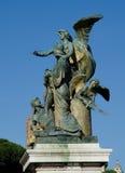 Altare della Patria in Rome, Italy. Rome, Italy, one of the major landmarks in Rome Stock Photo