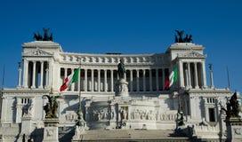 Altare della Patria in Rome, Italy. One of the major landmarks in Italian capital Royalty Free Stock Photography