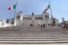 Altare Della Patria in Rome Royalty Free Stock Photos