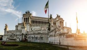 Altare della Patria in Rome, Italy Royalty Free Stock Photos
