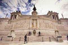 The Altare della Patria Stock Photo