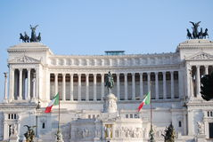 The Altare della Patria Royalty Free Stock Images