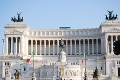 The Altare della Patria Royalty Free Stock Photography