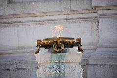 The Altare della Patria Stock Photos