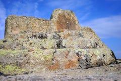 Altare della roccia Fotografia Stock