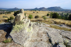 Altare della roccia Fotografie Stock