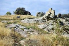 Altare della roccia Immagini Stock