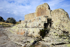 Altare della roccia Fotografie Stock Libere da Diritti