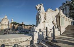Altare della scala della patria Roma Italia Europa Immagine Stock