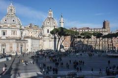 Altare della scala della patria Roma Italia Europa Fotografie Stock Libere da Diritti