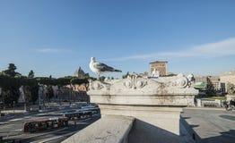 Altare della scala della patria Roma Italia Europa Fotografia Stock Libera da Diritti