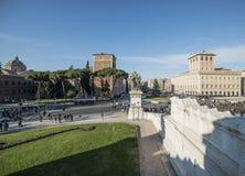 Altare della scala della patria Roma Italia Europa Fotografia Stock