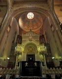 Altare della sinagoga della via di Dohany Fotografia Stock