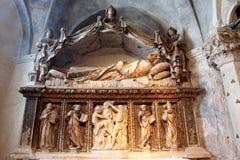 Altare della st Anastasius nella cattedrale della st Domnius nella spaccatura Fotografie Stock
