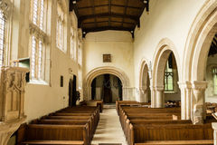 Altare A della st Andrews Church Nave View From Fotografia Stock