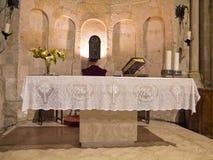 Altare della st John The Baptist. Matera. La Basilicata. Fotografie Stock