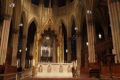 Altare della st Patrick della cattedrale Immagine Stock Libera da Diritti