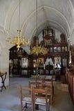 Altare dentro il monastero di Arkadi Immagini Stock Libere da Diritti