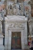 altare dentro il san Pietro Fotografia Stock